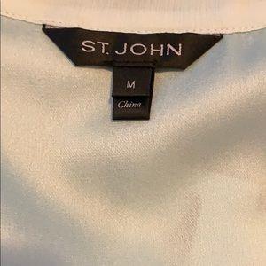 St. John Tops - Beautiful silk St. John top